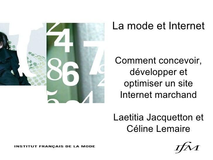 BATA, CONSTRUCTION DE COLLECTION, 15 JUIN 2006 La mode et Internet Comment concevoir, développer et optimiser un site Inte...