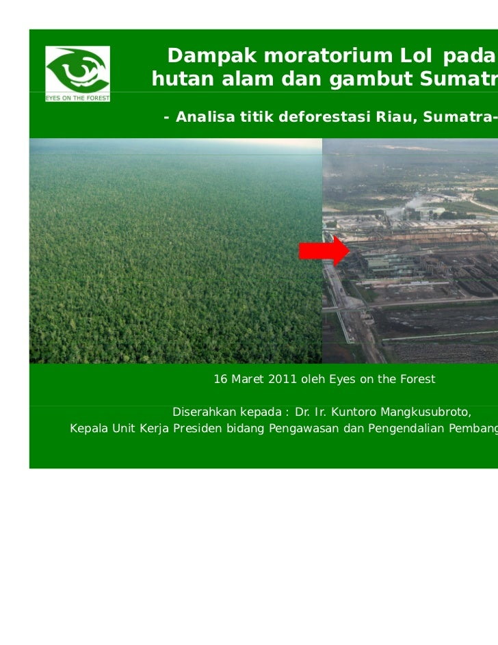 Lamp 3. eof (16mar11) impacts of loi moratorium on sumatra and riau bhs final