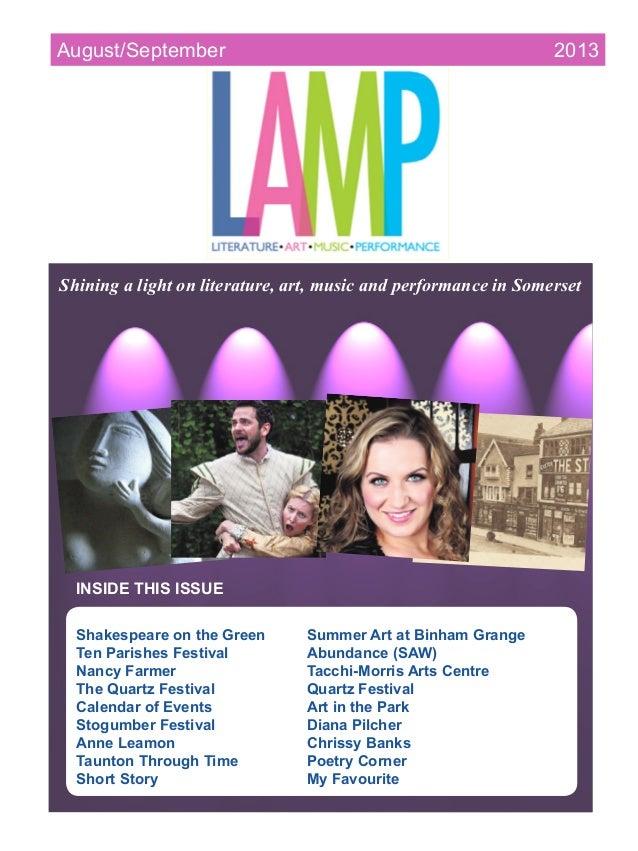 sssss INSIDE THIS ISSUE Shakespeare on the Green Summer Art at Binham Grange Ten Parishes Festival Abundance (SAW) Na...