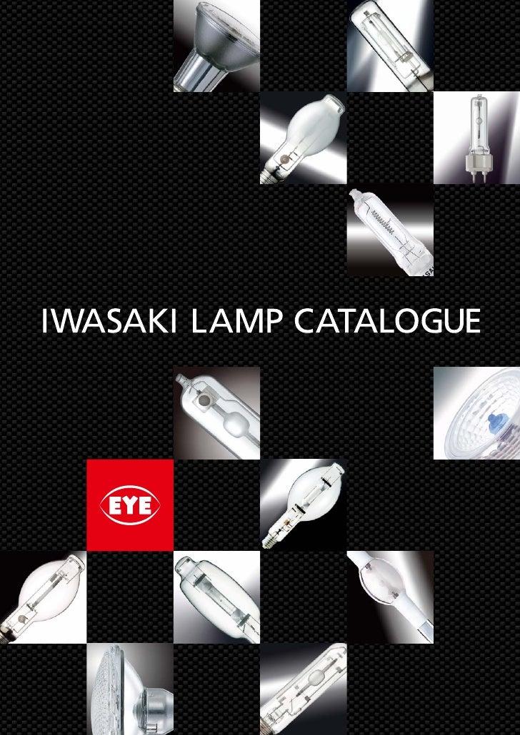 Iwasaki Lamp Catalogue