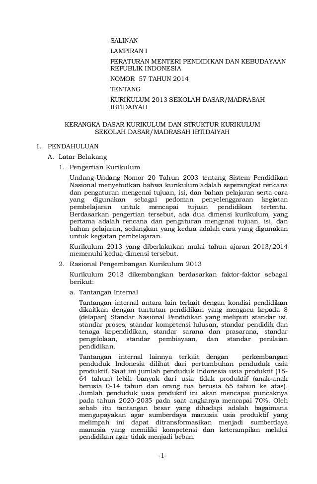 Image Result For Download Permendikbud Otk A