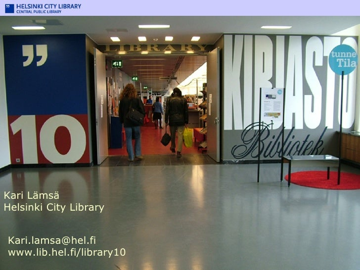 Library 10: Helsinki's dynamic music and IT centre