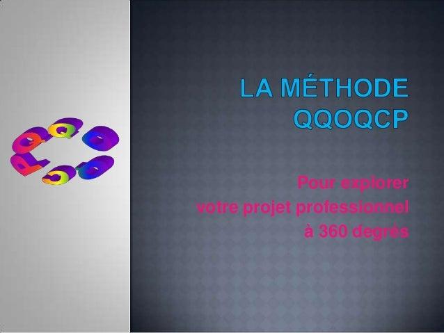 La méthode qqoqcp