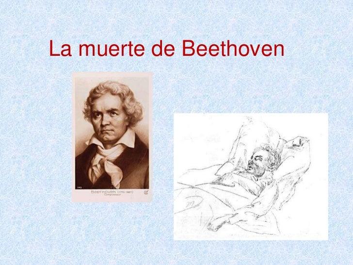 La muerte de Beethoven