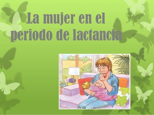 lactancia periodo: