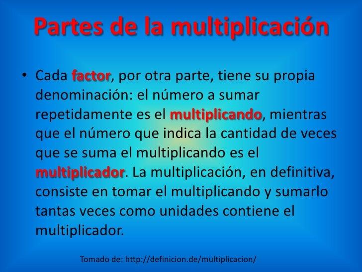 Definicion de multiplicacion pictures to pin on pinterest for Definicion de cuarto