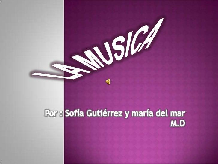 a Historia de la música es el estudio de las diferentestradiciones en la música y su ordenación en el tiempo.Dado que toda...