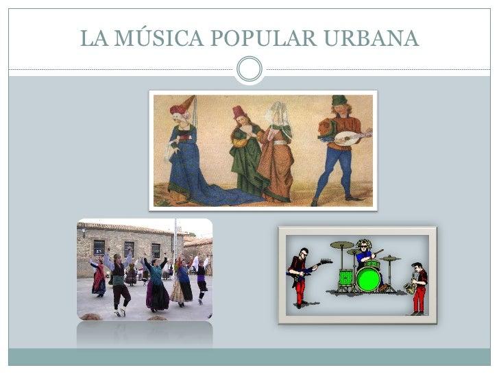 La musica popular_urbana