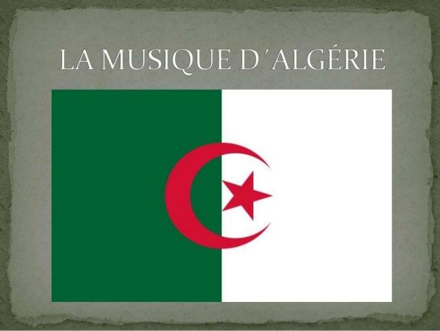 La musique andalouse, c´est un style de musique arabe qui se produit en Afrique du Nord. La musique populaire, comme Hawzi...