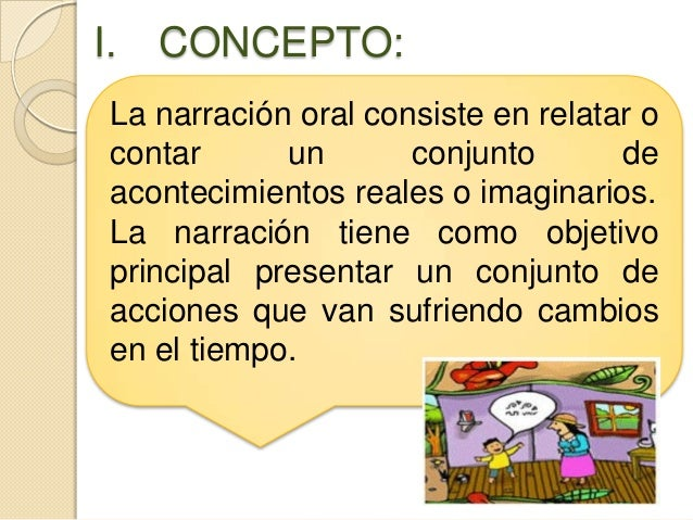 Que Es Narracion Oral 103