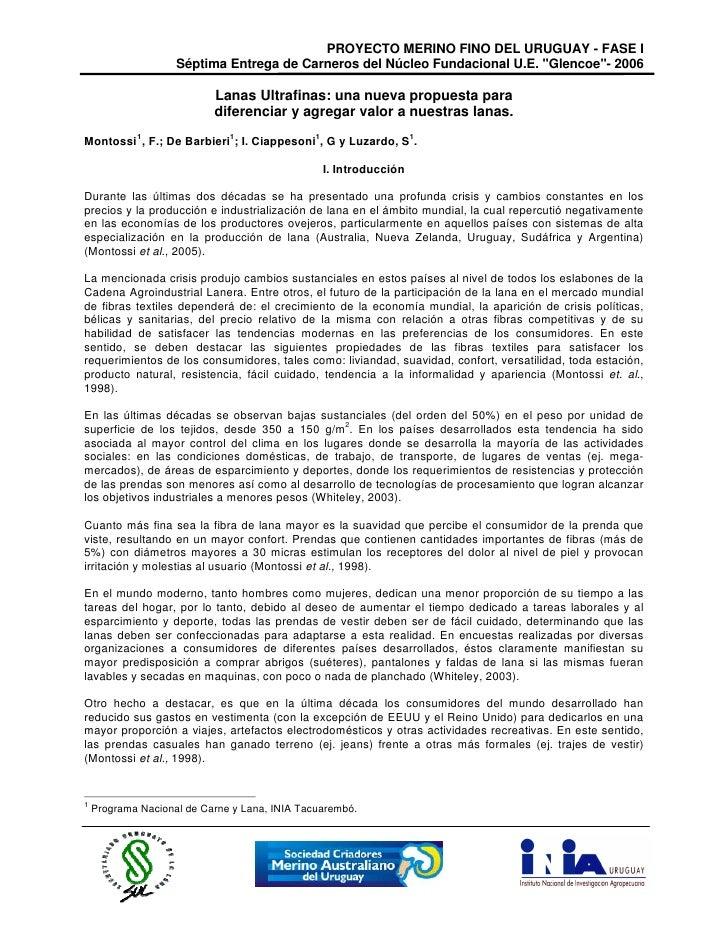 Lanas Ultrafinas   Nueva Propuesta
