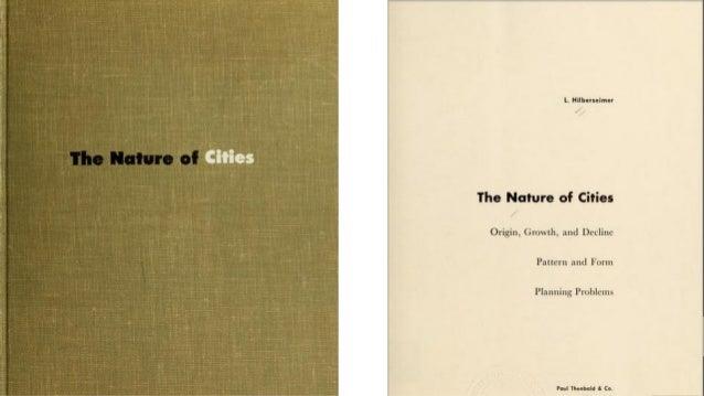 La Naturaleza de las Ciudades - Ludwig Karl Hilberseimer V3