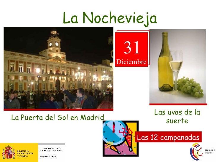 La navidad en espana for Puerta del sol en nochevieja