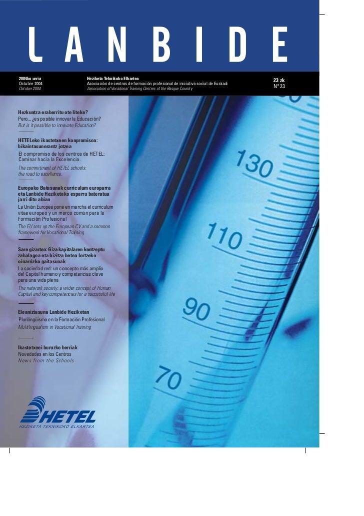 Revista Lanbide 2004