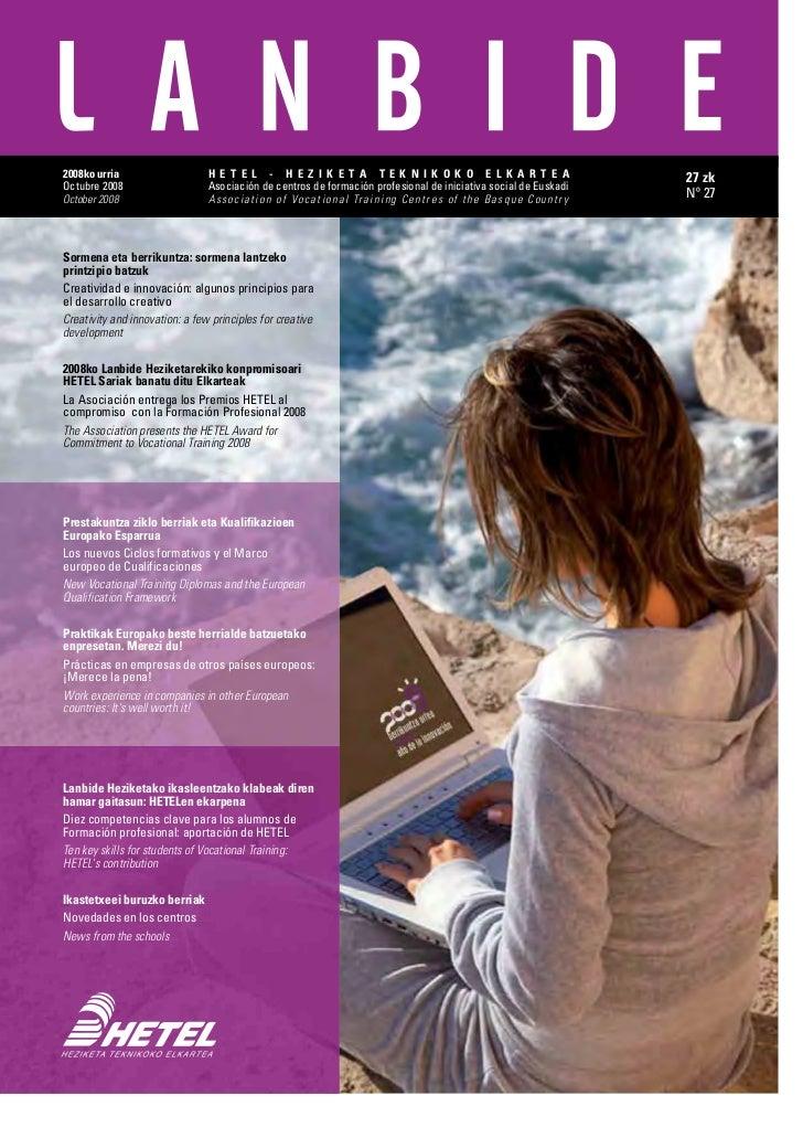 Revista Lanbide 2008