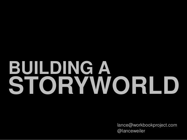 Building a Story World