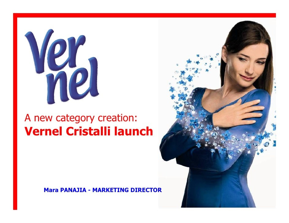 Lancio di una nuova categoria di prodotto il caso vernel cristalli