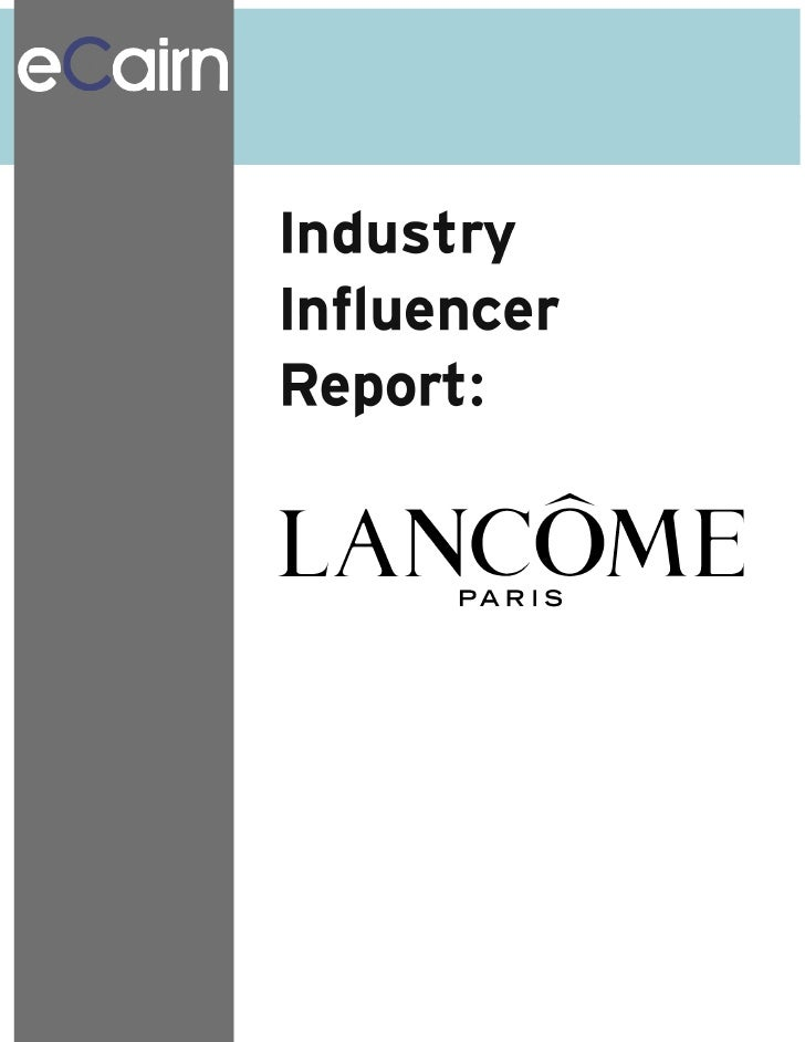 Lancome Report For Mapping Social Aging Communities