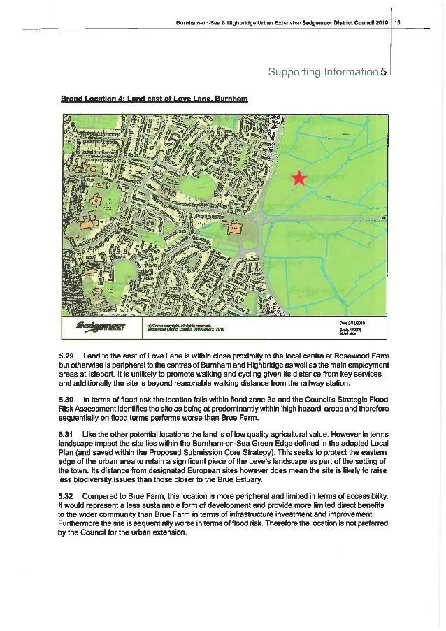 Land east of love lane burnham
