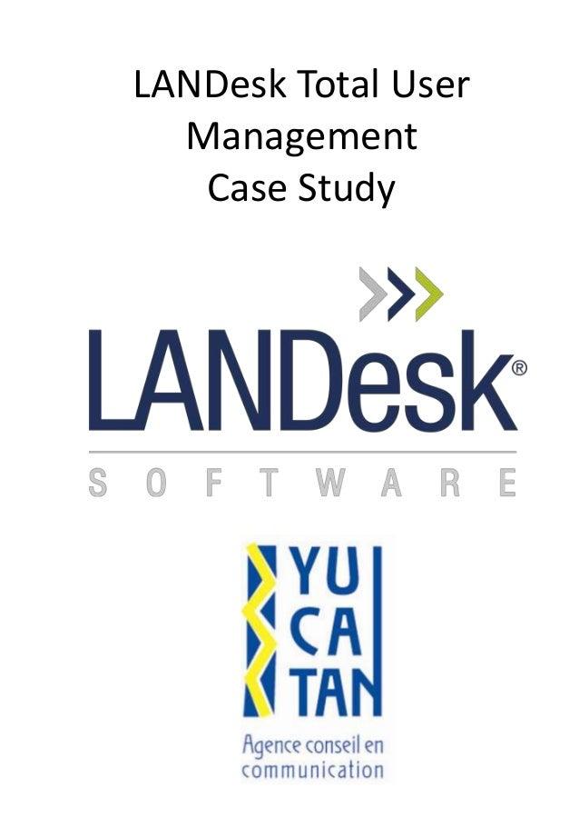 LANDesk Total User Management Case Study