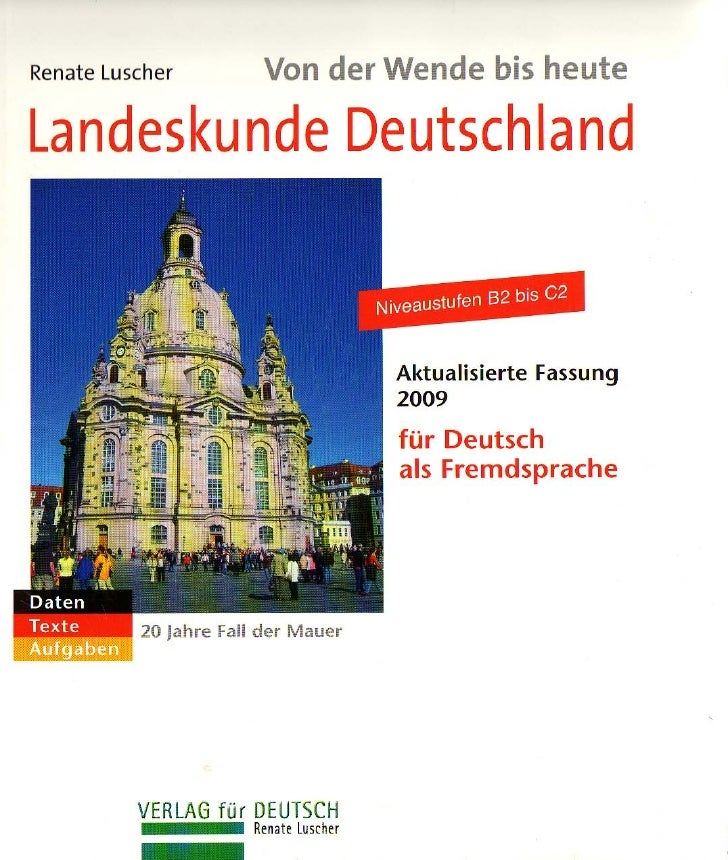 Landeskunde Deutschland