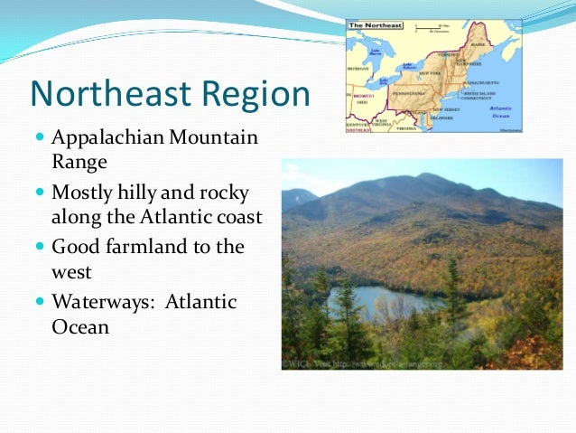 Natural Resources Found In The Northeast Region Of The Us