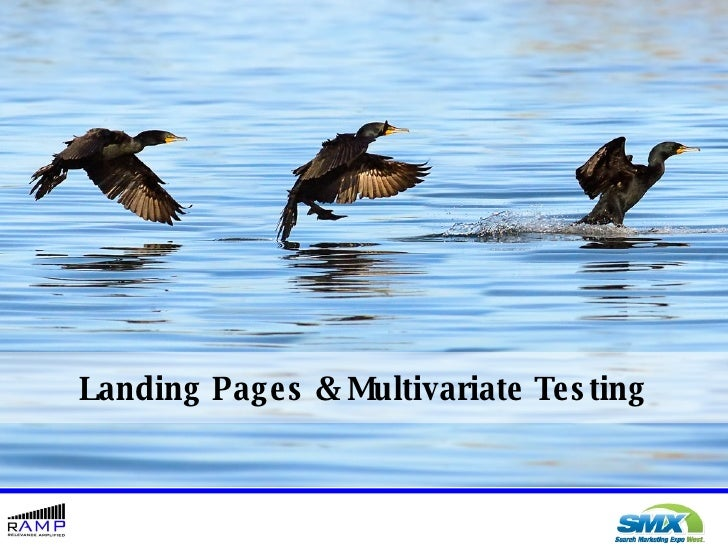 Landing Pages and Multivariate Testing