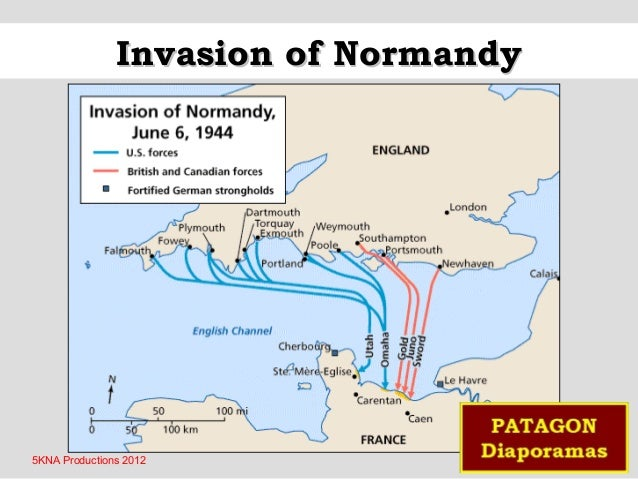 Invasion of Normandy  5KNA Productions 2012