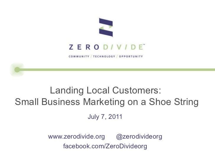 Landing local customers webinar final