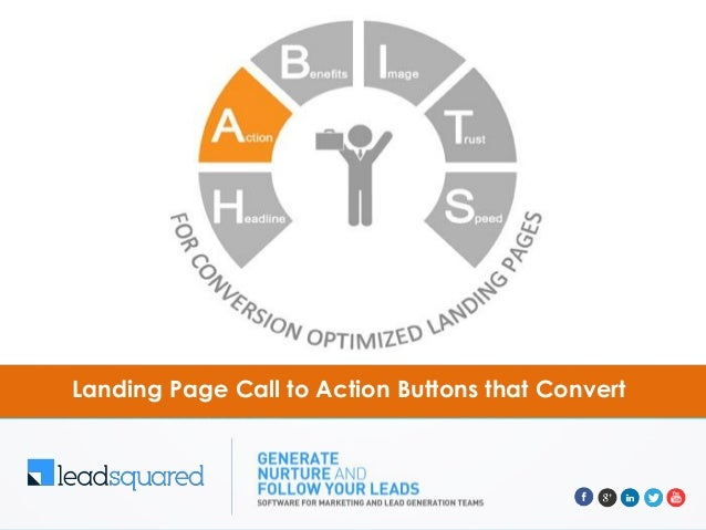 Landing page call to action buttons that convert