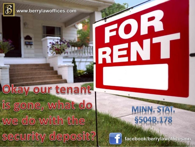 Tenant's deposit shall earn simple interest at the rate of 1% per year Interest begins the first of the month following ...