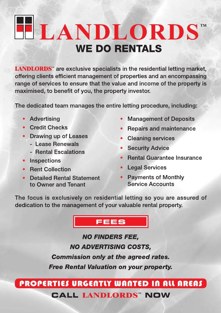 Landlords Just Rentals