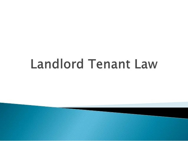 You're living on your own now You must know the rights and responsibilities of The Tenant (that's you) The Landlord