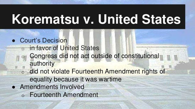 Korematsu vs united states Essay Academic Writing Service ...