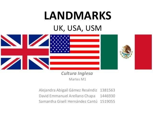 Class: LANDMARKS. Cultura Inglesa