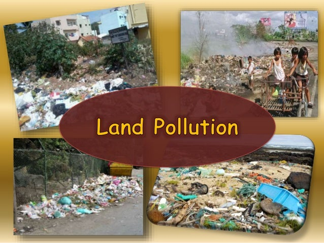 What is land pollution auto design tech for Soil pollution definition