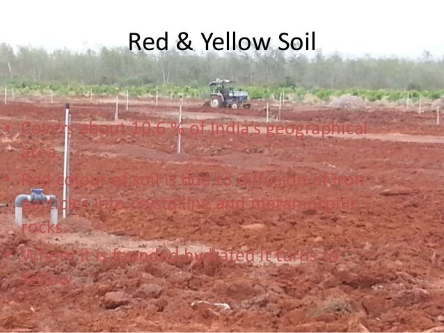 Red and yellow soil in india images for Soil in india