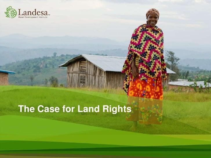 Landesa - Land Rights 101