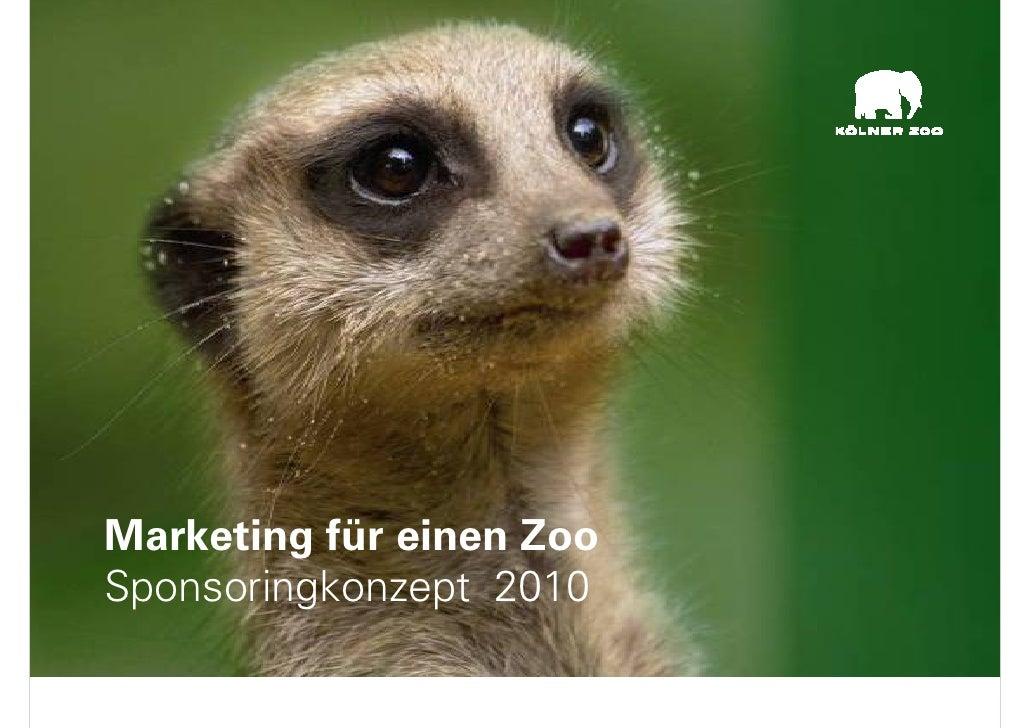 Landsberg   Marketing FüR Einen Zoo