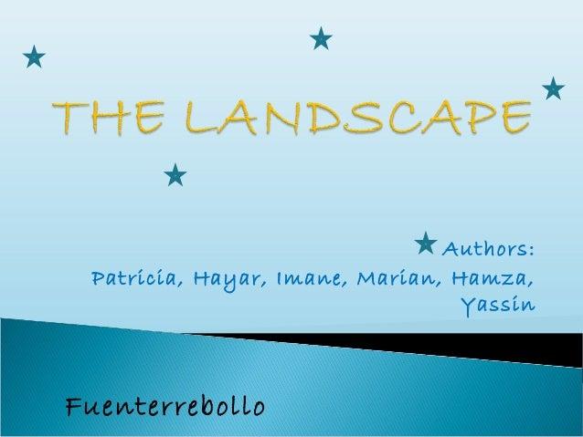 Authors: Patricia, Hayar, Imane, Marian, Hamza,                                  YassinFuenterrebollo