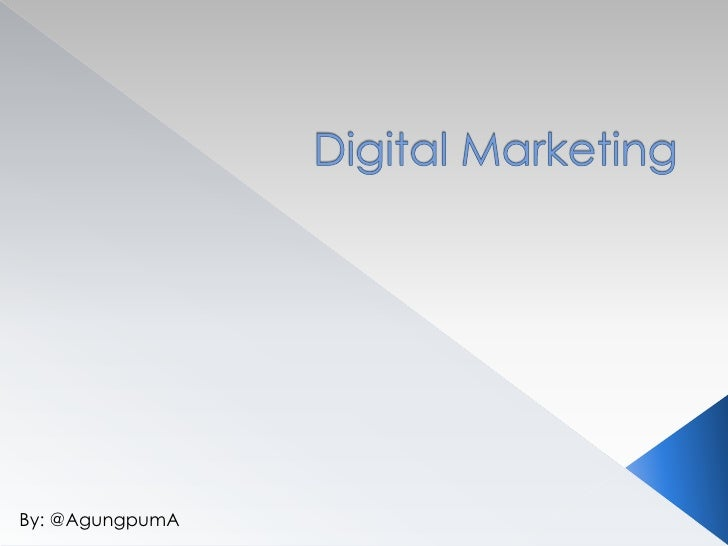 Landscape digital marketing