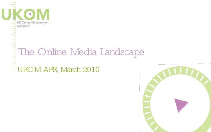 The Online Media Landscape UKOM APS, March 2010