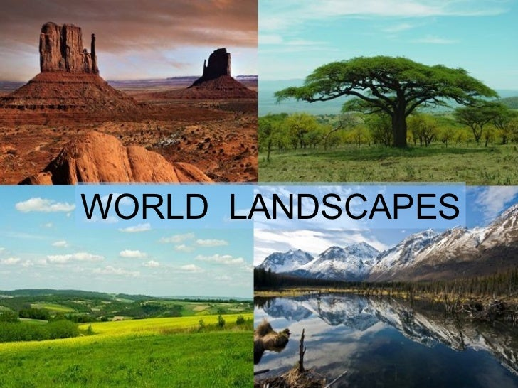 WORLD  LANDSCAPES