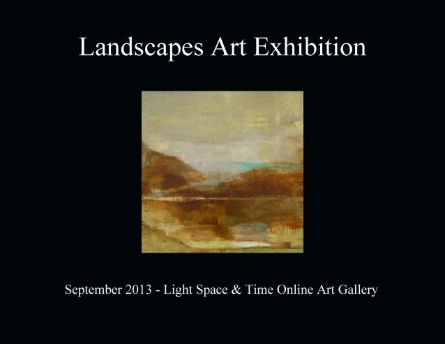 Landscapes 2013 Art Exhibition Event Catalogue