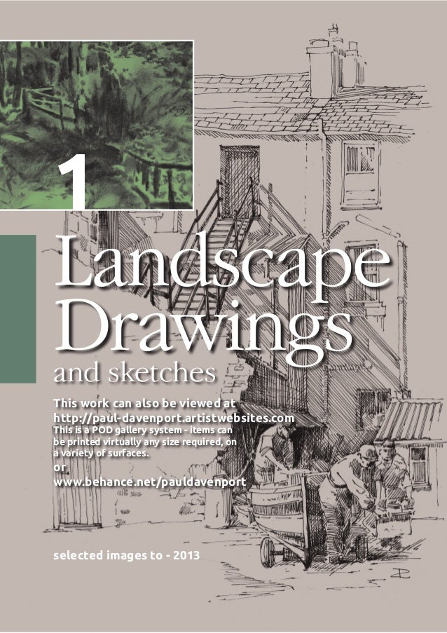 Landscapes and sketches