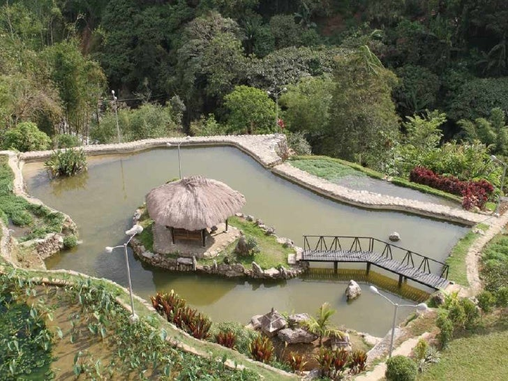 Landscapes in Baguio City, Philippines