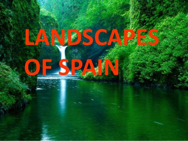 Landscapes in spain maria-moya