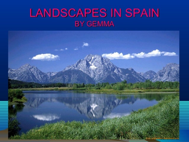 LANDSCAPES IN SPAIN BY GEMMA