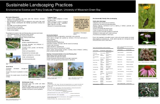 Sustainable Landscaping PracticesEnvironmental Science and Policy Graduate Program. University of Wisconsin-Green BayStorm...