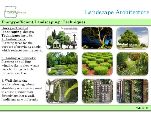 Landscaping architecture for Landscape architects in india
